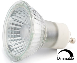 520 lumens, 6 WATT, Blanc chaud 3 000 K, Gradable