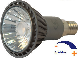 300 lumens, 7 WATT, Blanc chaud 2 700 K, Gradable