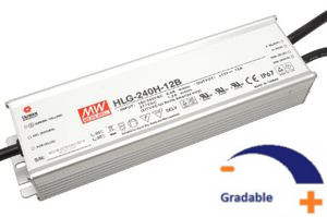 12 V - 240W, IP67, gradable